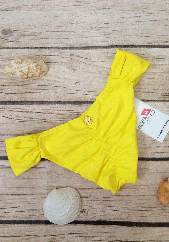 Calcinha Borboleta Amarelo