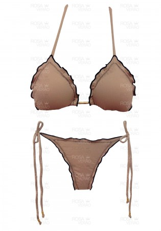 Biquíni Ripple Nude - Empina Bumbum