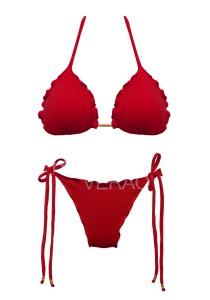 Biquíni Ripple Vermelho - Empina Bumbum